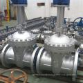 China gemacht niedrigen Preis hohe Qualität manuelle DIN Stahlguss Absperrschieber