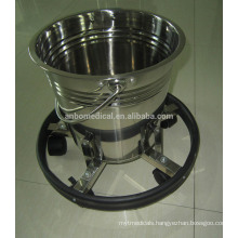 Specific movable waste bucket