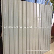 Revestimiento de pared exterior de panel de plástico a prueba de sonido