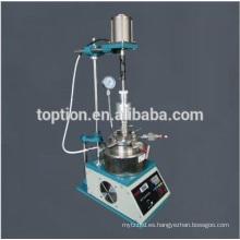 acoplamiento magnético agitar reactor de laboratorio de alta presión 100 ml