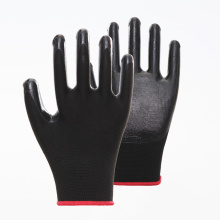 Hot PVC Top Breathable Coated Safety Gloves