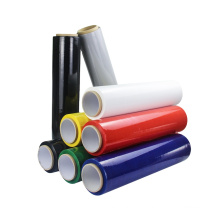 100% LLDPE Pack Wrap Color Blue Casting Film Raw Material for Polyethylene Stretch Film