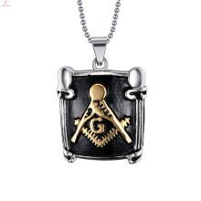 New Arrival Latest Fashion Designs Masonic Pendant Necklace