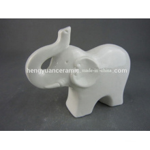 Fashion Elephant Ceramic Figurine Moden Design for Home Decoration