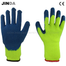 Terry Shell Latex Coated Industrial Labor Protective Safety Gloves (LS7011)