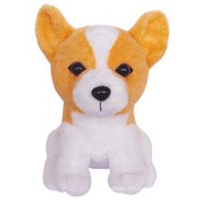 cão de pelúcia brinquedo macio para animais de estimação
