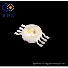 1w High Power Epistar LED Module 8 Pines RGBW