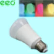 Светодиодная лампа Wi-Fi - 6 Вт с возможностью затемнения Разноцветные светодиодные фонари с изменяемым цветом Smart LED Light Bulbs