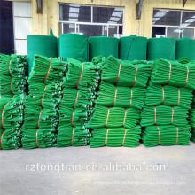 Rede de segurança de alta resistência da construção do verde da proteção da queda para o cerco / andaime provisório