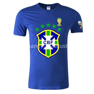 2014 Brazil World Cup national team logo t-shirts