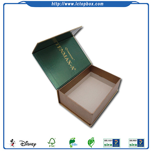 Handmade Cosmetic Paper Packaging Color Box