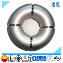 Codo de acero inoxidable 304 316L con LR de 90 grados
