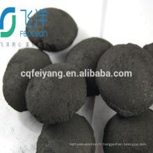 Importer et exporter le charbon de bois coréen de forme grumeleuse de forme pour le gril de barbecue