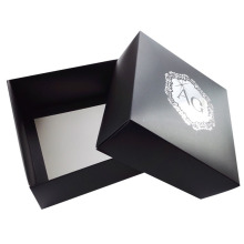 Matt flat packaging dyed paper jewelry box