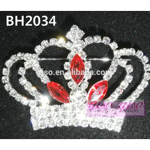 latest style crown crystal pin