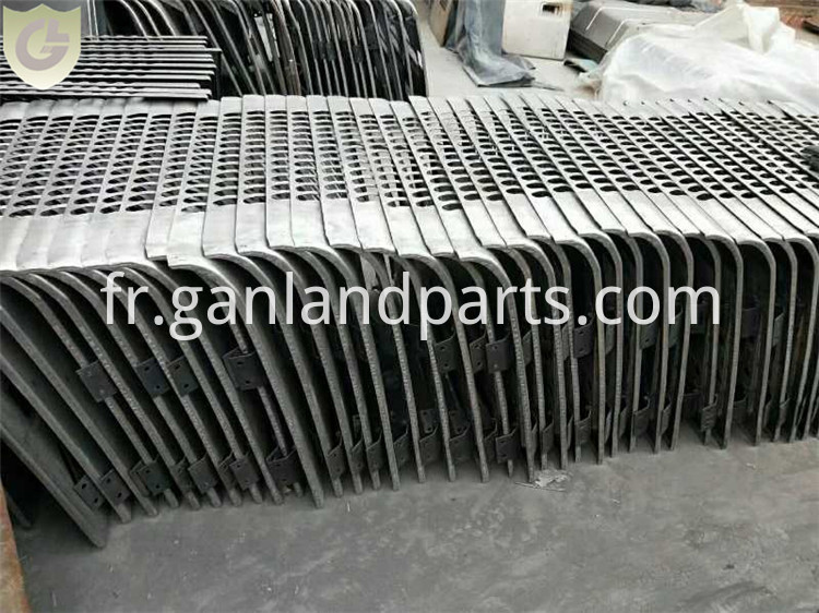 Excavator Side Door for Radiator