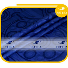 Tela africana del material del paño de algodón del damasco del brocado de Guinea al por mayor de Feitex Prime