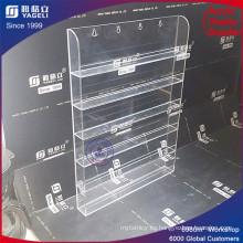 Custom Promoción Lutice esmalte de uñas Display Floor Stand