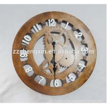 Relógio de parede de metal grande para venda