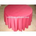 tissu de satin table ronde de 120 pouces pour mariage