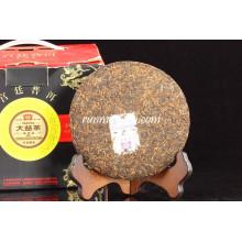 "2010 Menghai Dayi ""Gong Ting"" Ripe Pu Er (001) Pu-erh Tea, 200g / gâteau"