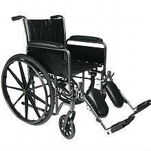 Repose-pieds standard en fauteuil roulant