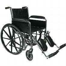 standard wheelchair elevating leg rest