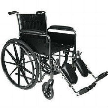 Standard-Rollstuhl-Beinauflage