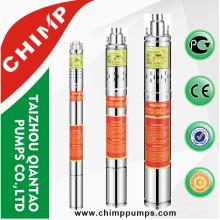 China bomba de tornillo sumergible 3QGD1.5-72-0.37 lista de precios bombas subterráneas
