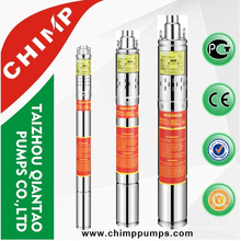 Bomba de parafuso submersível China 3QGD1.5-72-0.37 lista de preços de bombas subterrâneas