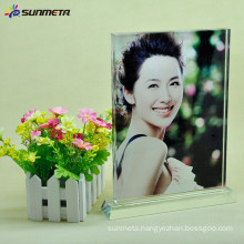 Sunmeta directly sublimation decoration photo crystal, sublimation coated crystal
