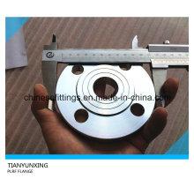 Bride Rond / Plat Platine 316L en acier inoxydable DIN 2543