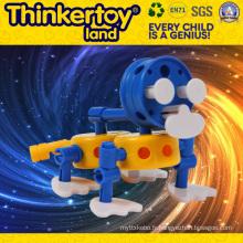 Jouet de brique de construction intellectuelle pour ordinateur portable en plastique pour enfants
