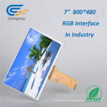 "7"" 50pin RGB Interface Touch TFT Display"