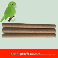 Couvertures de perche de sable d'oiseau de compagnie d'OEM pour la cage d'oiseau