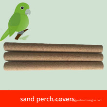 OEM pet bird sand perch covers for bird cage