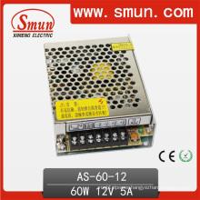 60W Mini Volume Single Output Switching Power Supply 12V/15V/24V