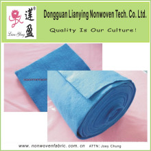 Tissu non tissé couleur bleue avec sensation de douceur