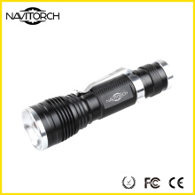 240lm CREE XP-E 3W Durable Telescopic Focus Handy LED Flashlight (NK-630)
