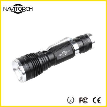 240lm CREE XP-E 3W Durable Telescopic Focus Handy LED Flashlight (NK-630)