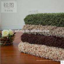 100% poloyester porta da frente projeta parede a parede carpete tapete japão