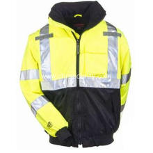 Men's Hi-Vis Waterproof Bomber Jacket