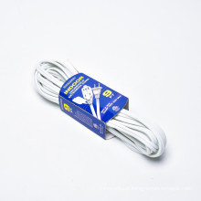 UL ETL 2 conductor,household extension cords(SPT-2) 9 outlets electric extension cord