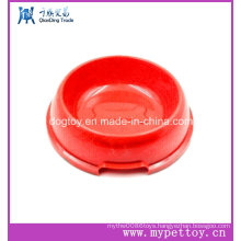 High Quality Plastic Dog Bowls with Bone Logo