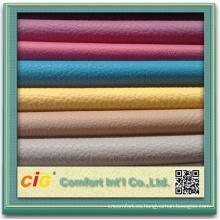 PVC/PU cuero vinilo tela para la cubierta de asiento de coche