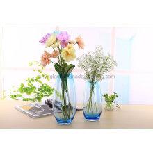 Vase en verre taché pour fleur