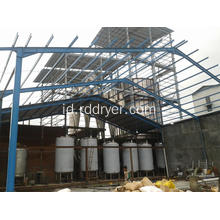Pengering Spray Mechine Spray Dryer untuk Asam Amino