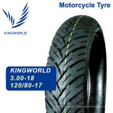 Hohe Qualität neue 120/80-17 Motorrad Reifen