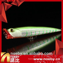 hard lure popper fishing 140mm 40g top water lures fishing