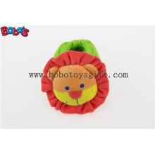 Мягкая короткая плюшевая фаршированная игрушка льва Baby Крытый обувь с погремушкой